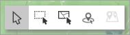 全部三个选择工具的屏幕截图