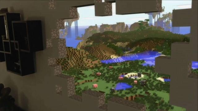 HoloLens 的 Minecraft 概念体验