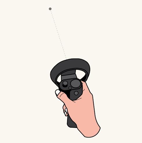 Ray cursor 控制器