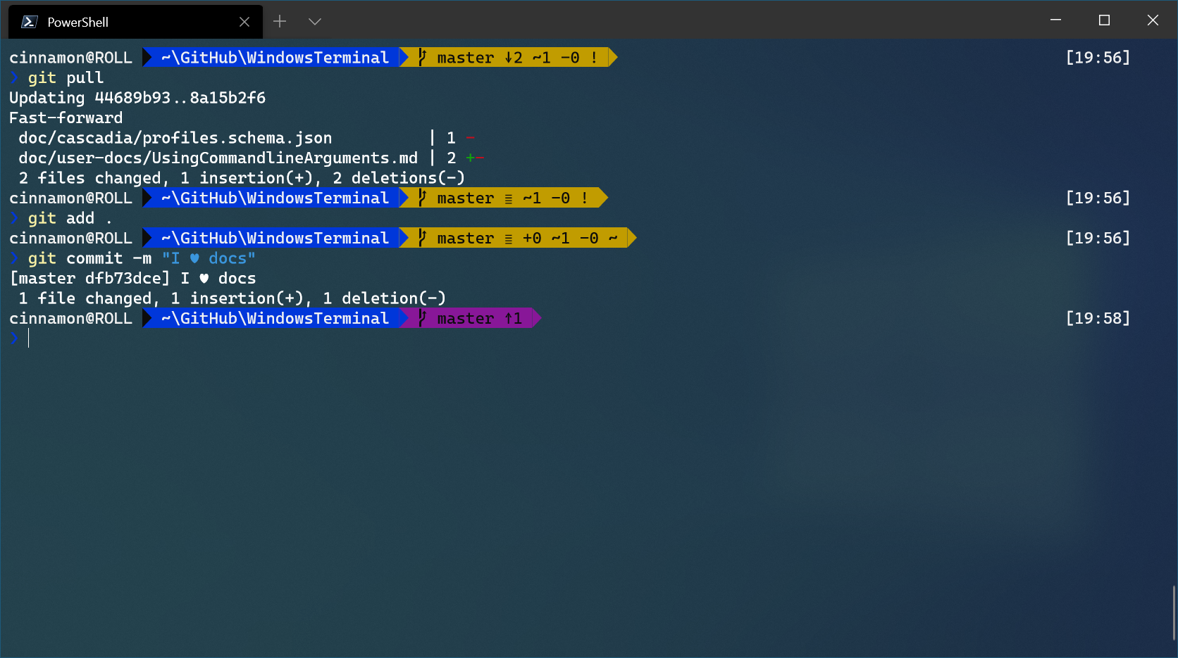Windows 终端 Powerline PowerShell