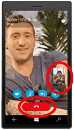 手机通信应用 UI