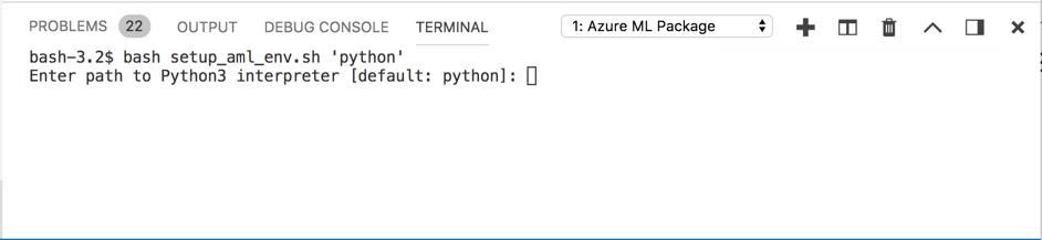 使用適用于機器學習服務的Visual Studio Code - Azure Machine